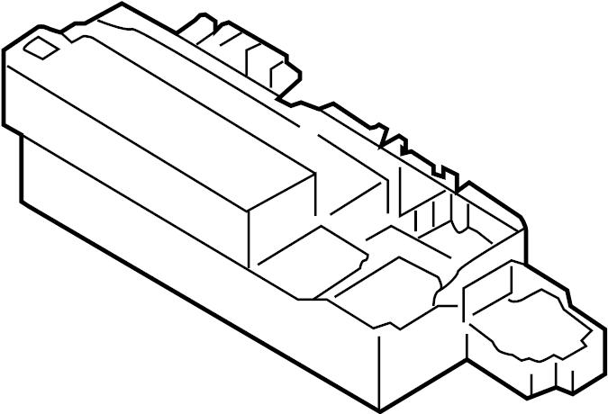 2014 Audi RS5 Fuse Box. Relay & fuse plt. Relay Box. Relay