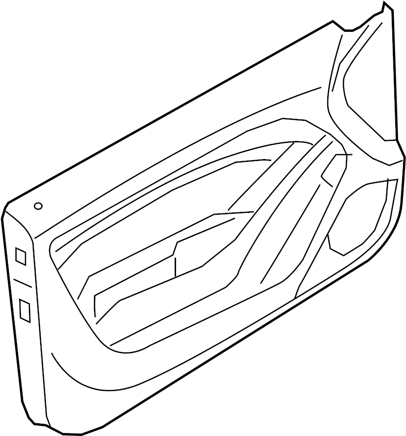 2014 Audi S5 Door Interior Trim Panel. Door trim panel