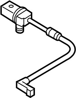 2012 Audi Sender wire (pad wear indicator). SENDING WIRE