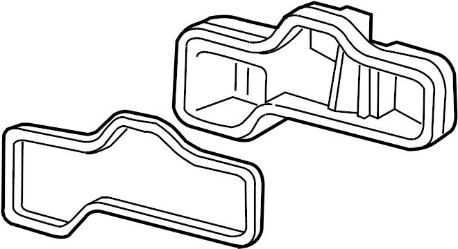 2002 Audi A6 Quattro Protective cap. Ellipsoidal