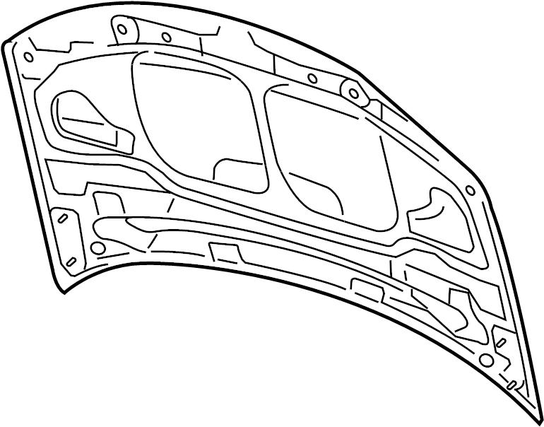 2006 Audi A8 Quattro Hood. Engine, Installation, Parts