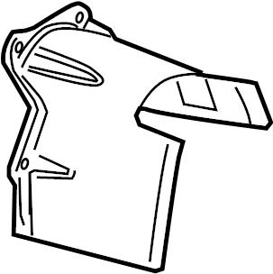 2003 Audi A8 Quattro Shield. COVER PLATE. Continuously