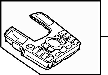 Audi A8 Quattro Operating mechanism for mulitmedia unit