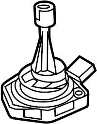2012 Audi S8 4.2L Oil level sensor. Cylinder, Audi, Engine