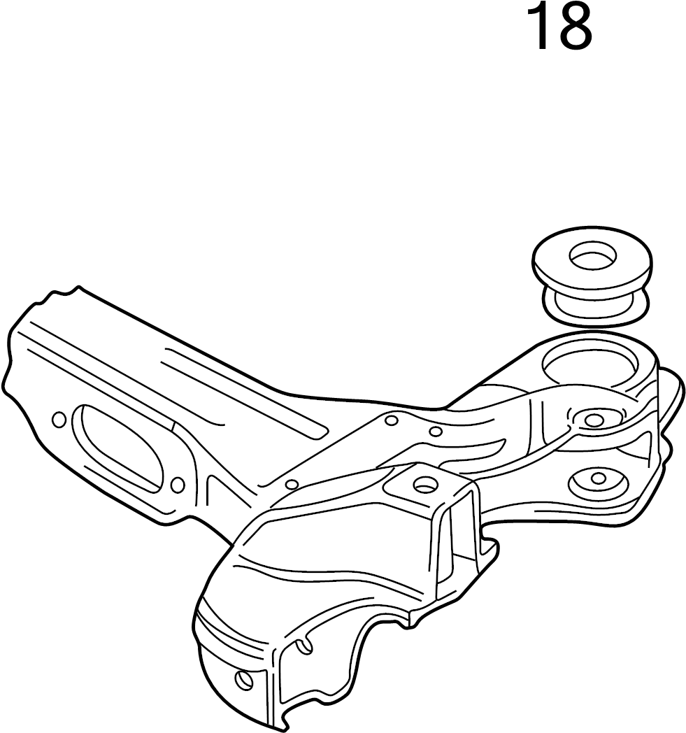 Audi Mounting parts for engine and transmission for 6