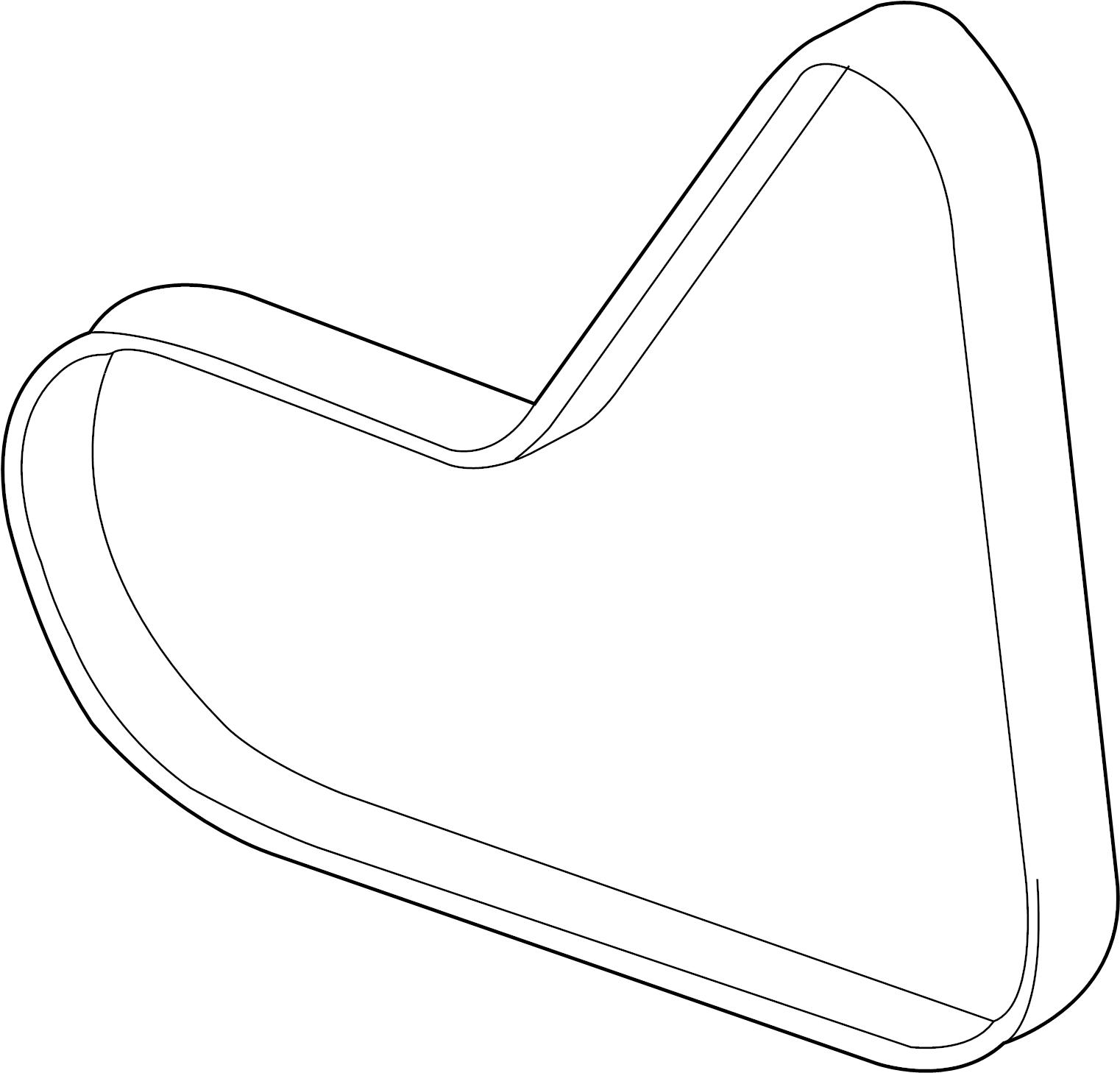 2005 Audi Belt, V-Ribbed. VRIBBED BELT. VBELT