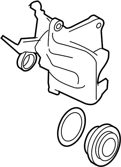 Audi TT Brake caliper. PISTON HOUSING. HOUSING. ChassisVIN