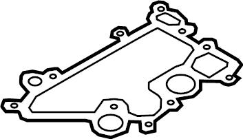 Audi TT Engine Crankcase Vent Valve Seal. Separator seal