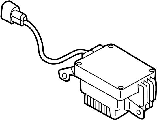 Audi Q3 Control module. Controller. Engine Cooling Fan