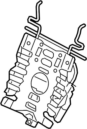 Audi SQ5 Lumbar support with adjustment motor. SEAT