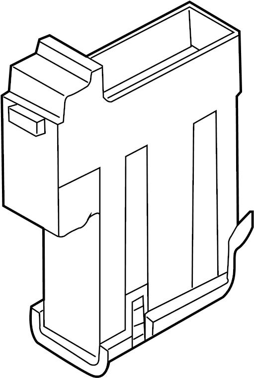 Audi Q7 Main fuse box. Vehicle, PASSENGER, Audi