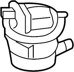 2012 Audi Q7 Leak detection pump. DIAGNOSIS PUMP