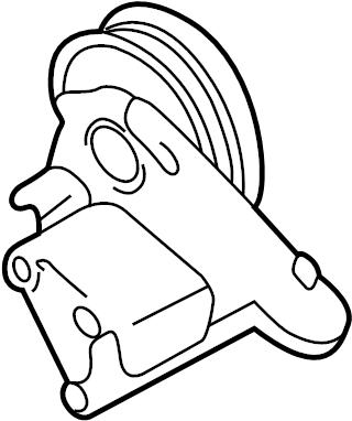 Audi A4 Quattro Avant Bracket for visco coupling. Viscous