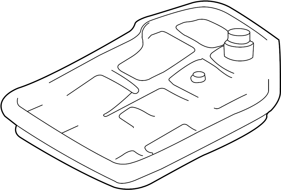 Audi A6 Transmission oil sump. TRANSM. OIL SUMP