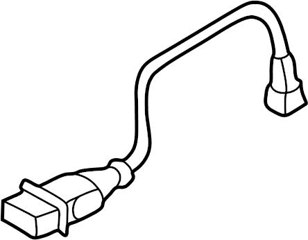 Audi A6 Quattro Bumper ambient temperature sensor for