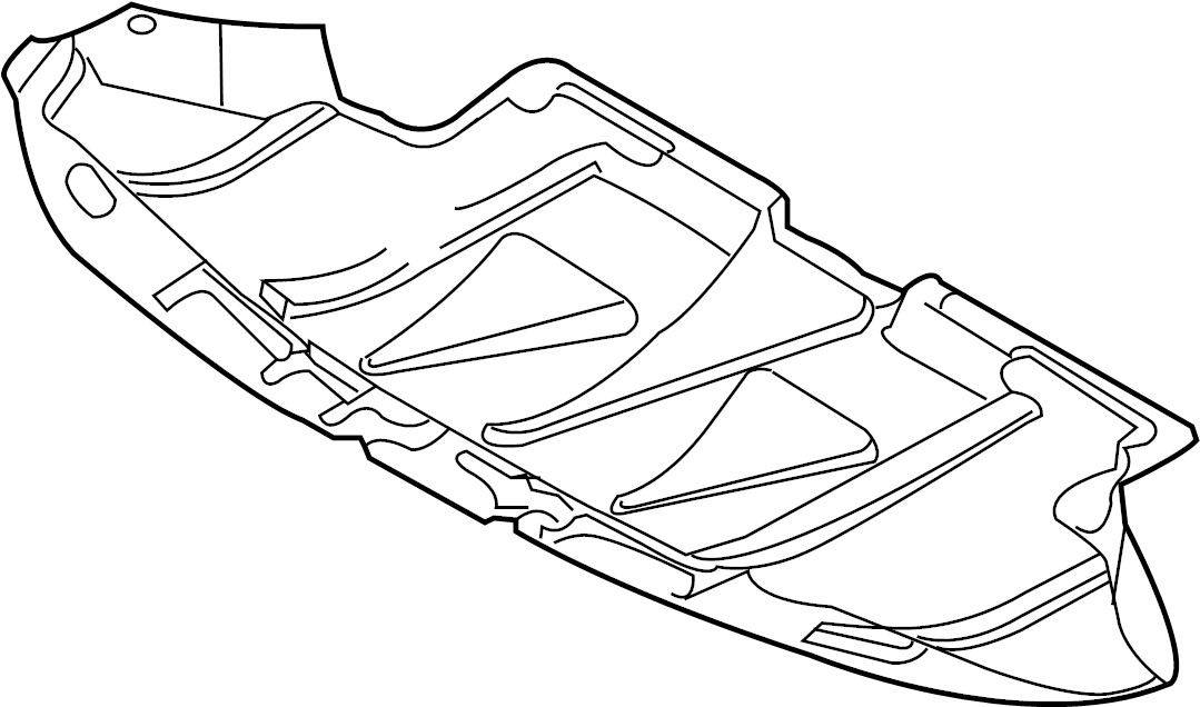 Audi A4 Avant Sound baffle no item:. SOUND DAMPENING