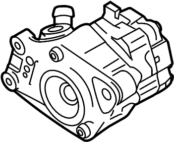 Audi A4 Cabriolet Power steering pump additionally to be