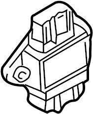 2001 Audi A4 Quattro Avant Contr.unit power output stage