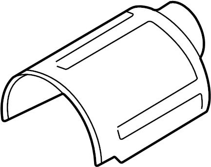 2005 Audi S4 Cabriolet Protective cap. Jumper, AAH