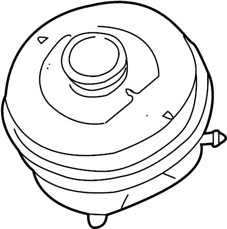 Audi A4 Reservoir for brake fluid. AUSGLEICHBEHAELTER