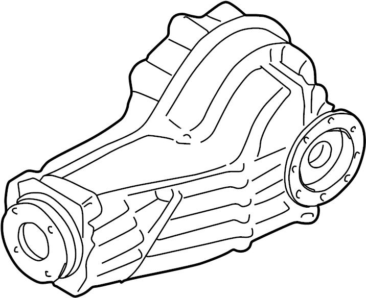 2002 Audi A6 Quattro Rear axle differential. CUB