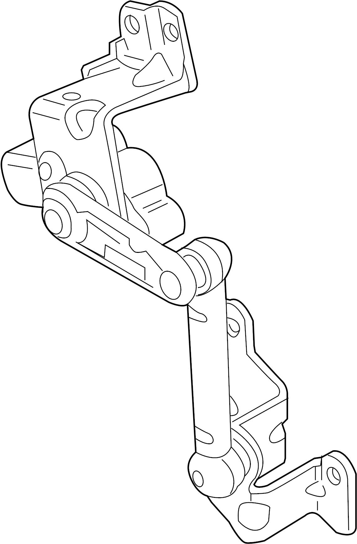 2006 Audi A3 Self-lev. Sensor with linkage. SELFLEVELLING