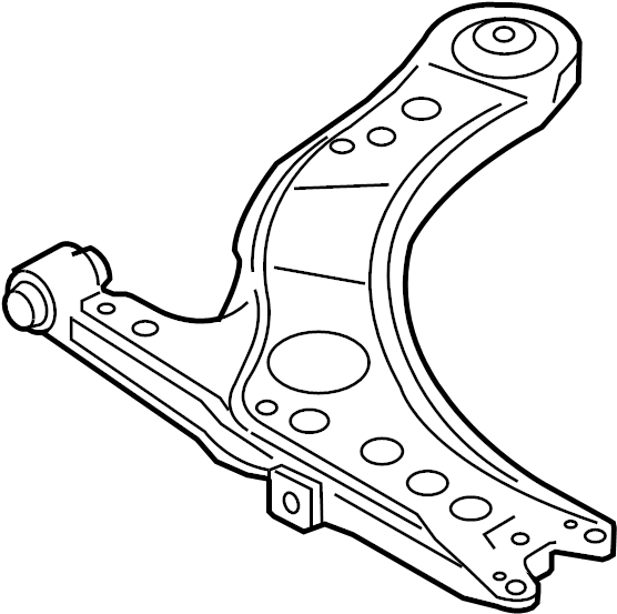 2004 Audi TT Roadster Track control arm (for modified