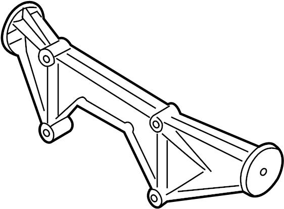 2001 Audi TT Coupe Cross member. Unitsplatform