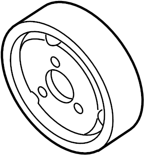 Audi Q7 Pulley also use: note technical product