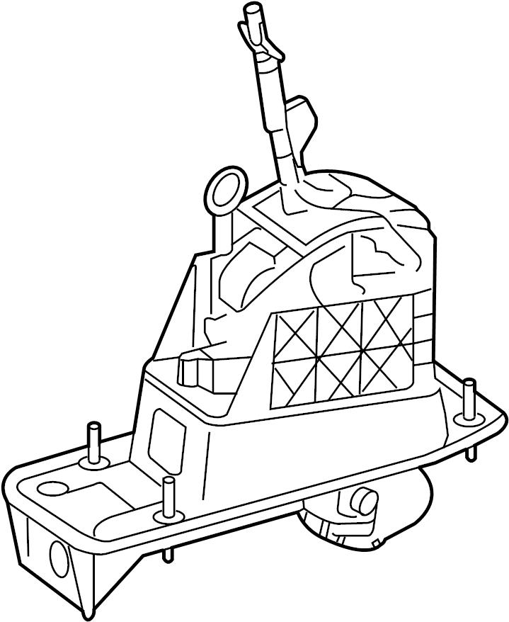 2010 Audi A3 Shift mechanism. SHIFT MECANISM
