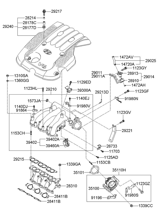 Service manual [How To Remove Intake Manifold 2008 Hyundai