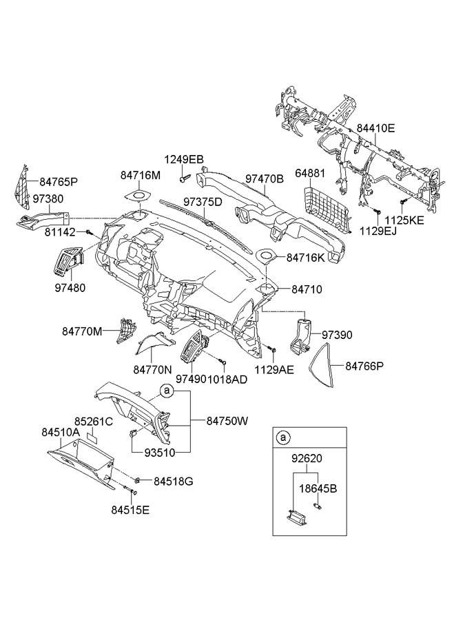 2012 Hyundai Sonata Audio Fuse Panel. Hyundai. Auto Fuse