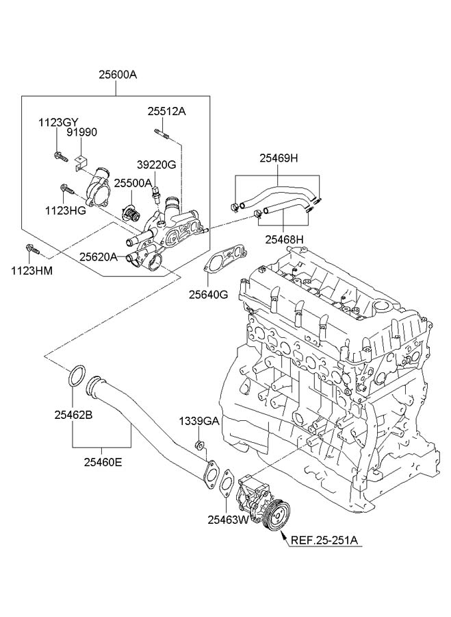 Engine Coolant For Hyundai Sonata