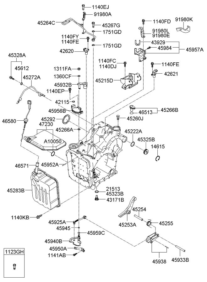 Wiring Diagram: 28 2008 Hyundai Sonata Parts Diagram