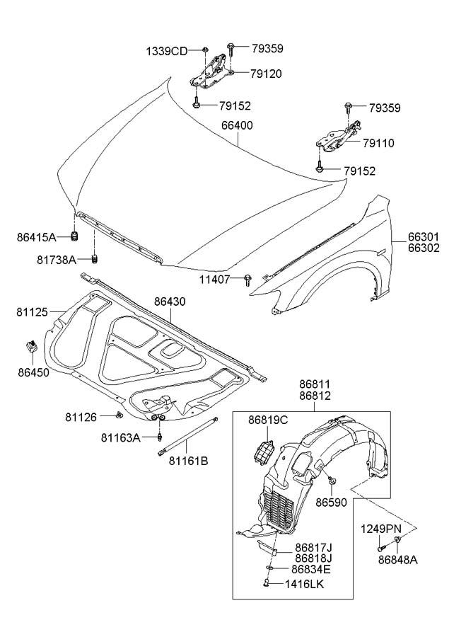 2007 Hyundai Entourage Wiring Harness. Hyundai. Auto
