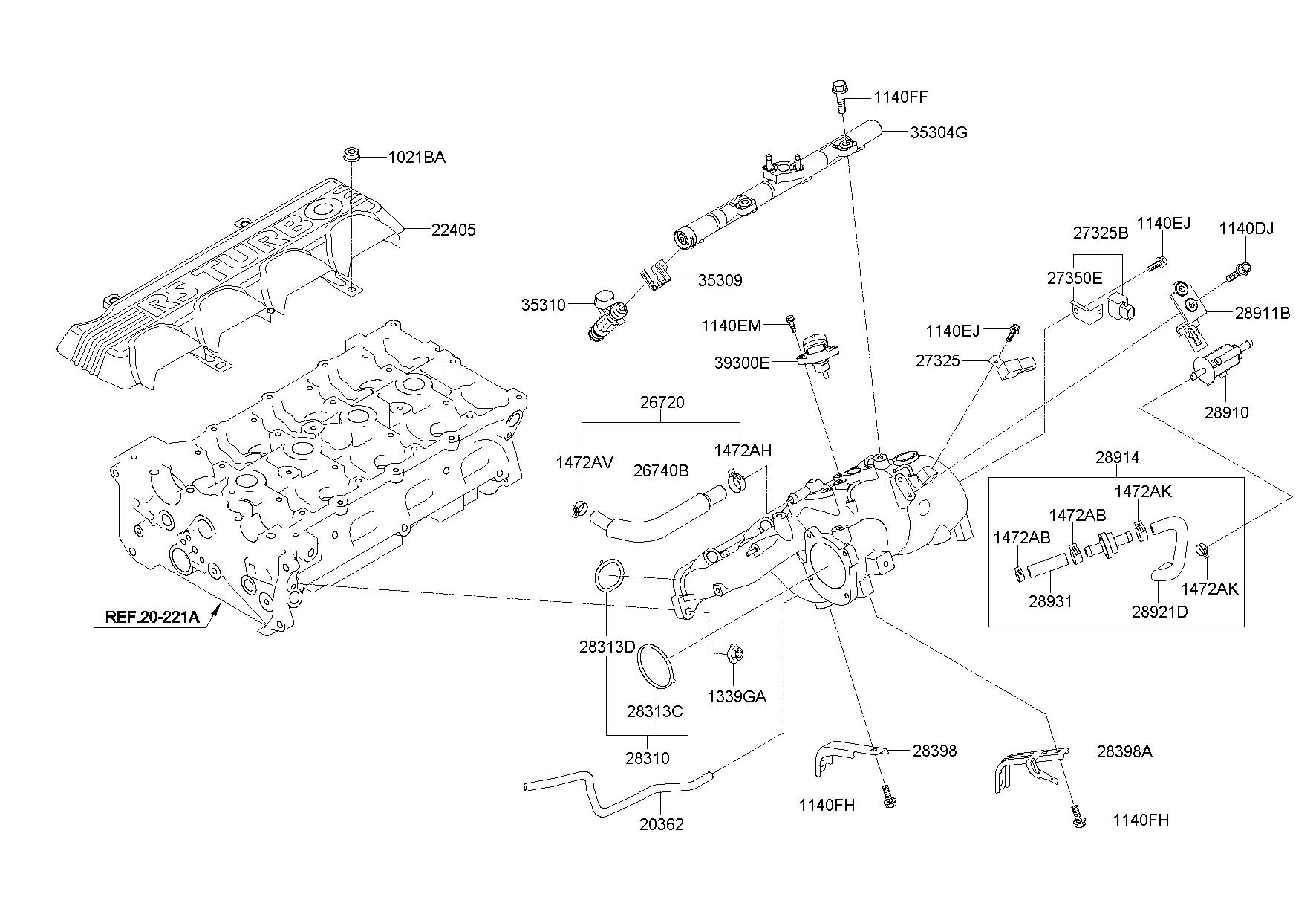 Hyundai Genesis Parts Diagram Likewise 2010 Hood, Hyundai