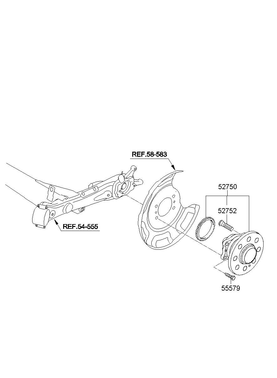 Service manual [2012 Hyundai Veracruz Rear Differential