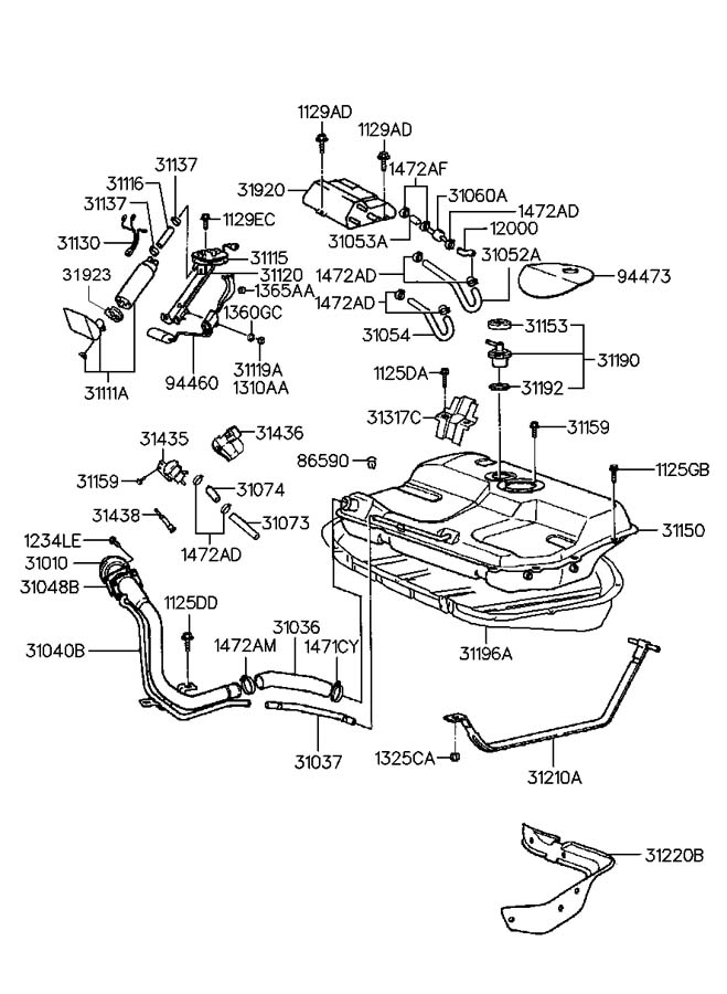 Hyundai Accent Engine Diagram Also 2004 Hyundai Sonata Engine Diagram