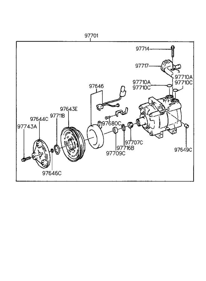 2005 Hyundai Santa Fe AIR CONDITIONING (A/C) SYSTEM