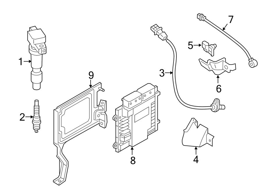 2015 Hyundai Sonata Crankshaft position sensor. Crnkshft