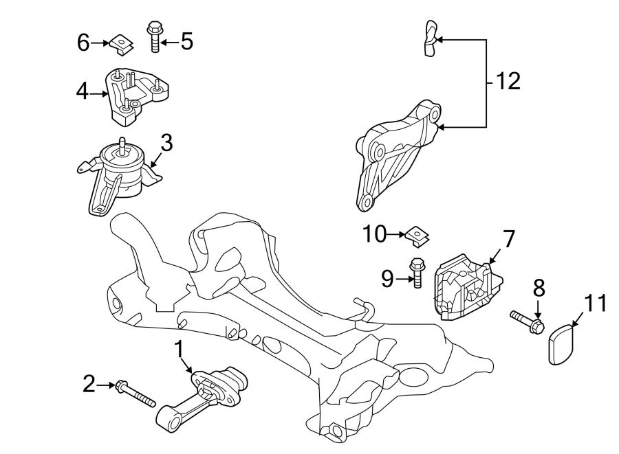 Hyundai Sonata Strut. TORQUE. Engine. BRACKET. 2.0 LITER