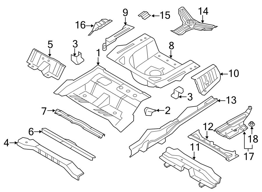 2015 Hyundai Sonata Panel assembly rear ( rear (rr