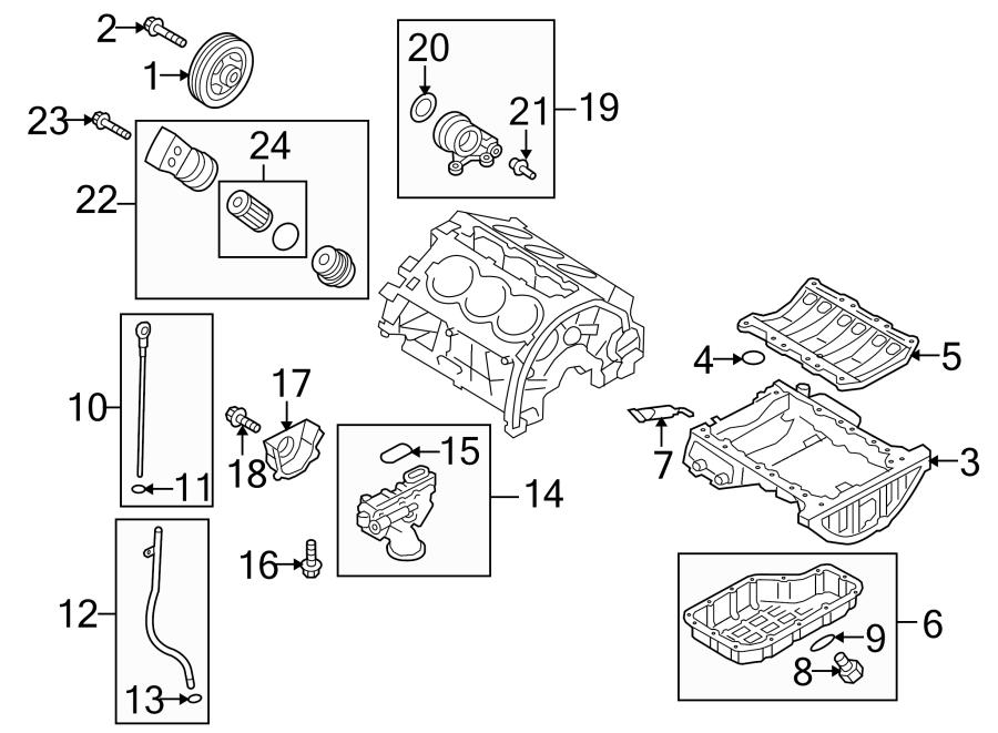 Hyundai Sonata Engine Oil Pressure Switch. OIL PRESSURE