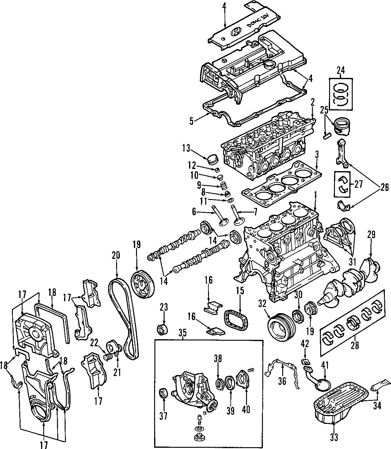 Hyundai Santa Fe Engine Valve Stem Oil Seal Engine