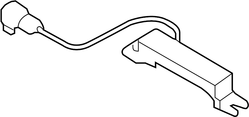 Hyundai Sonata Antenna. Keyless Entry Antenna. Front