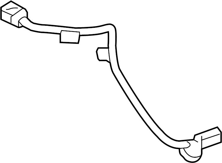 2016 Hyundai Sonata Harness. WIRING. BAG. Sensor. AIR