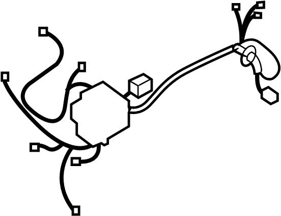 Hyundai Elantra FUSE BOX (RELAY BOX) & WIRING