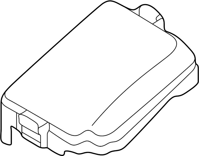 2012 Hyundai Elantra FUSE BOX (RELAY BOX) & WIRING