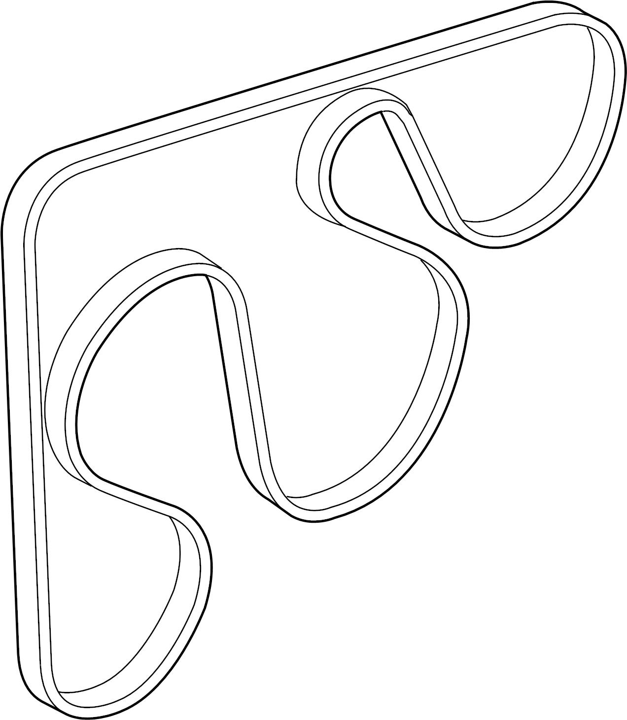 Hyundai Tucson Serpentine Belt