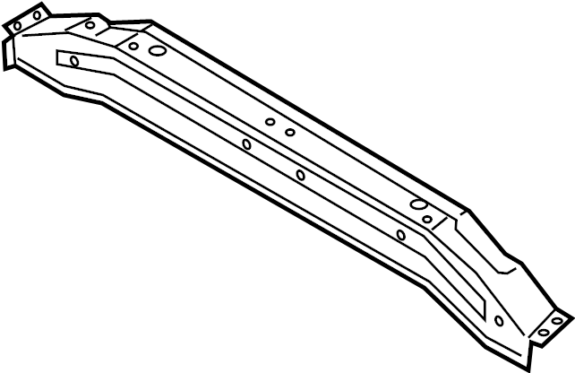 Hyundai I30 Extension assembly rear ( rear (rr) ) floor